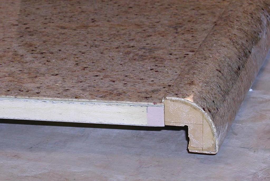 Wrapped Radius Bullnose Edge